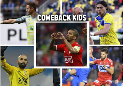 'Comeback kids': Sels, Bolat, Kagelmacher, Teixeira en Carcela toonden hoe het moet