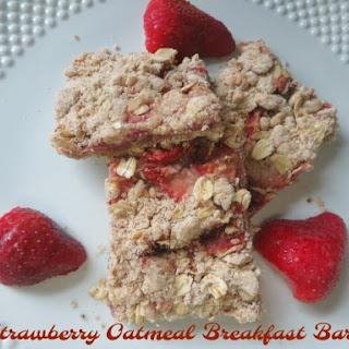 Strawberry Oatmeal Breakfast Bars Recipe