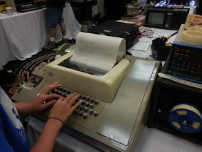 Photo: Teletype