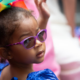 Young Girl  by VAM Photography - Babies & Children Child Portraits ( culture, nyc, parade, girl, fashion )