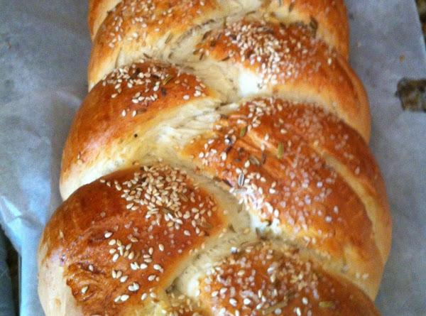 Sweet Braided Loaf Recipe