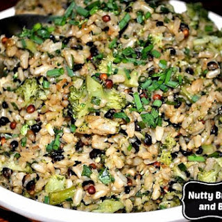 Are You Looking for a Healthy Side Dish? Tasty Brown Rice and Broccoli.