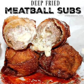 ~Deep Fried Meatball Subs!.