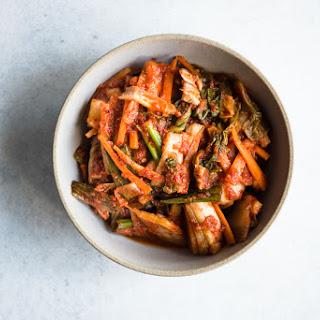 Small Batch Vegan Kimchi.