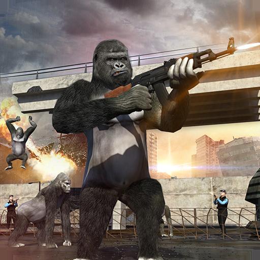Revenge of Apes: Jailbreak & Jungle Survival Story