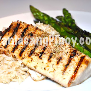 Honey and Balsamic Glazed Mahi-mahi