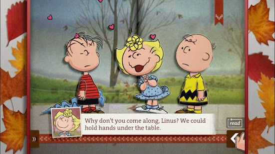 Peanuts Fall Iphone Wallpaper A Charlie Brown Thanksgiving Peanuts Read Amp Play