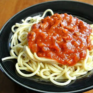 Spaghetti Sauce from the Slow Cooker.