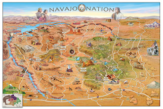 Photo: Navajo lands in Arizona- 2012