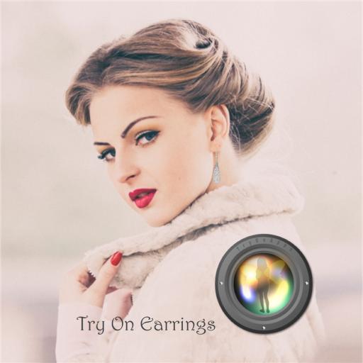 Dress up Selfie with Earrings