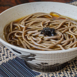 Toshikoshi Soba (Japanese New Year Soba).