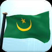 Mauritania Flag 3D Free