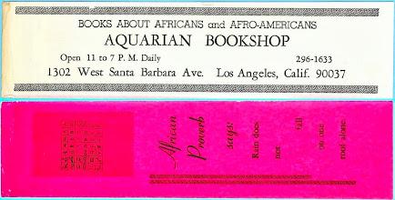 Photo: Aquarian Bookshop