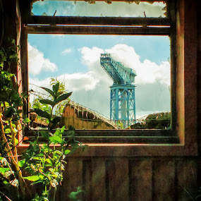 Titan  by Andrew Magee - Buildings & Architecture Decaying & Abandoned ( urban, industrial, historical, crane, industry, decay, shipbuilding )