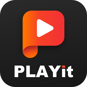PLAYit A New Video Player Music Player 2.3.4.18 by ADORNED LIMITED logo