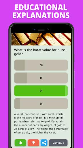 Free Trivia Game. Questions & Answers. QuizzLand. apktram screenshots 4
