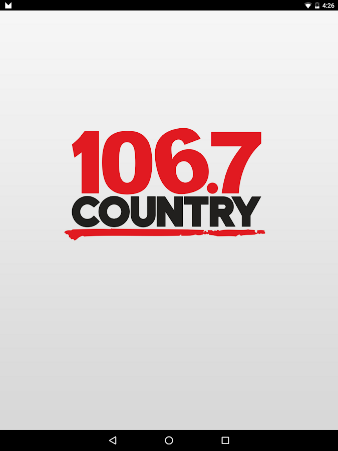 COUNTRY 106.7 Kitchener- screenshot