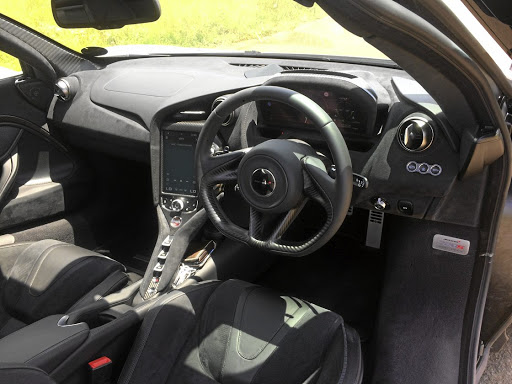 The interior is less cluttered with more controls in the centre console.     Picture: LERATO MATEBESE