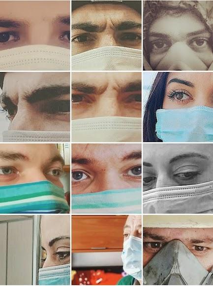 El proyecto muestra el sentimiento a través de una foto en primerísimo plano.