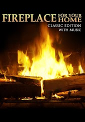 Fireplace For Your Home - presents a Crackling Fireplace with Music