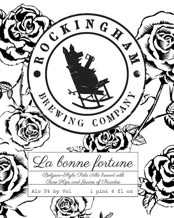 Logo of Rockingham Brewing Company La Bonne Fortune