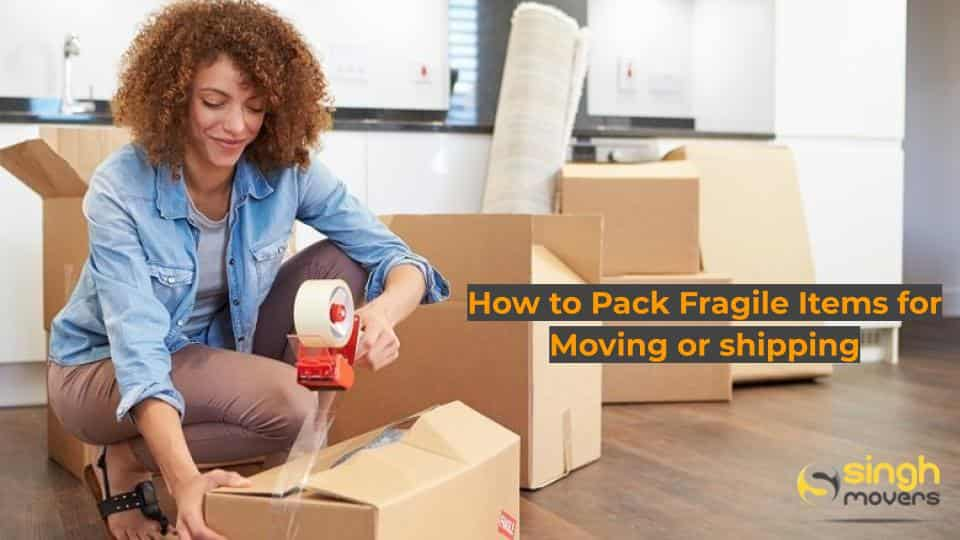 How to Pack Fragile Items for Moving or shipping.