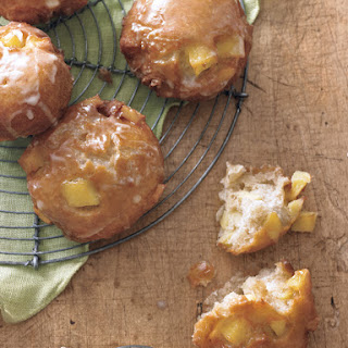 Apple Fritters with Cider Glaze