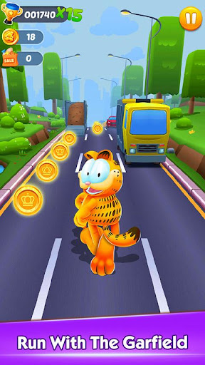 Garfield™ Rush apktreat screenshots 1
