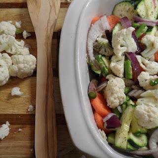 Marsala Roasted Vegetables.