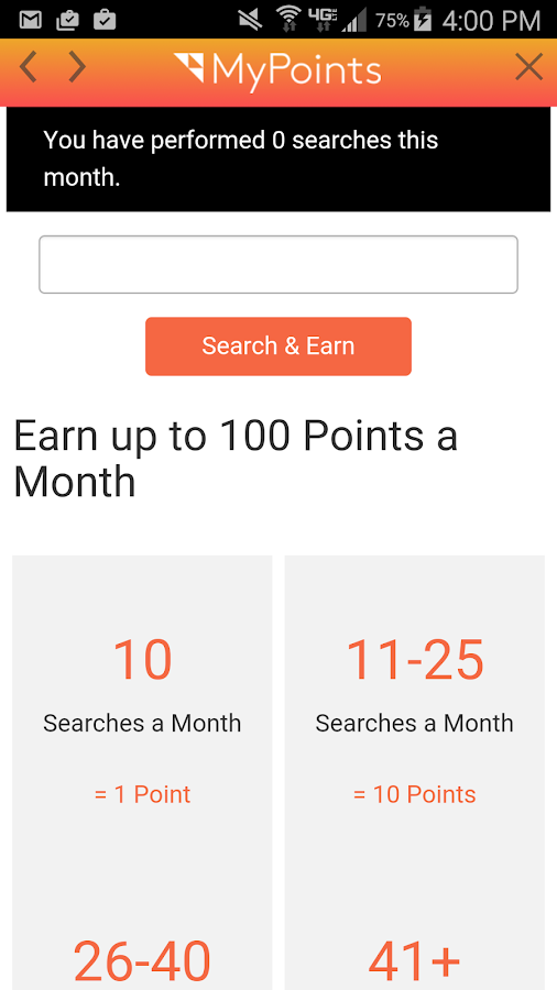 MyPoints- screenshot