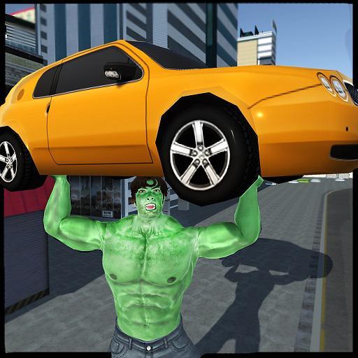 Green Monster Hero City Battle: Strange Future War