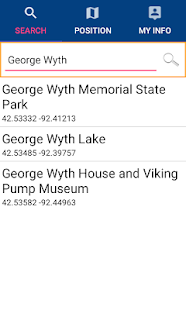 George Wyth Lake - IOWA GPS - náhled