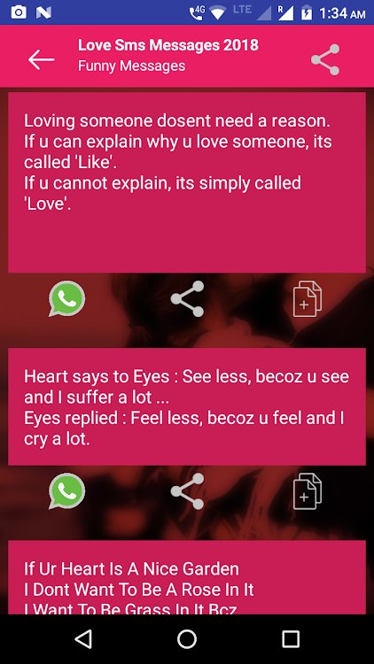 2019 Love SMS Messages – (Android Apps) — AppAgg