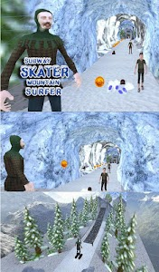 Subway Skater Mountain Surfer screenshot 12