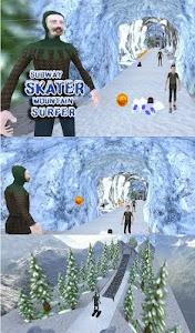 Subway Skater Mountain Surfer screenshot 12