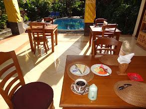 Photo: 1. KUTA - hôtel PELASA au petit dej.