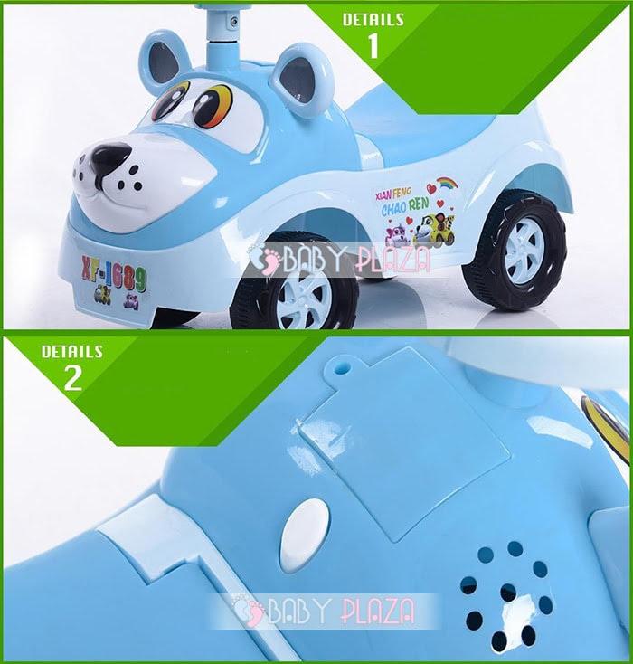 Xe chòi chân trẻ em TC-323 5