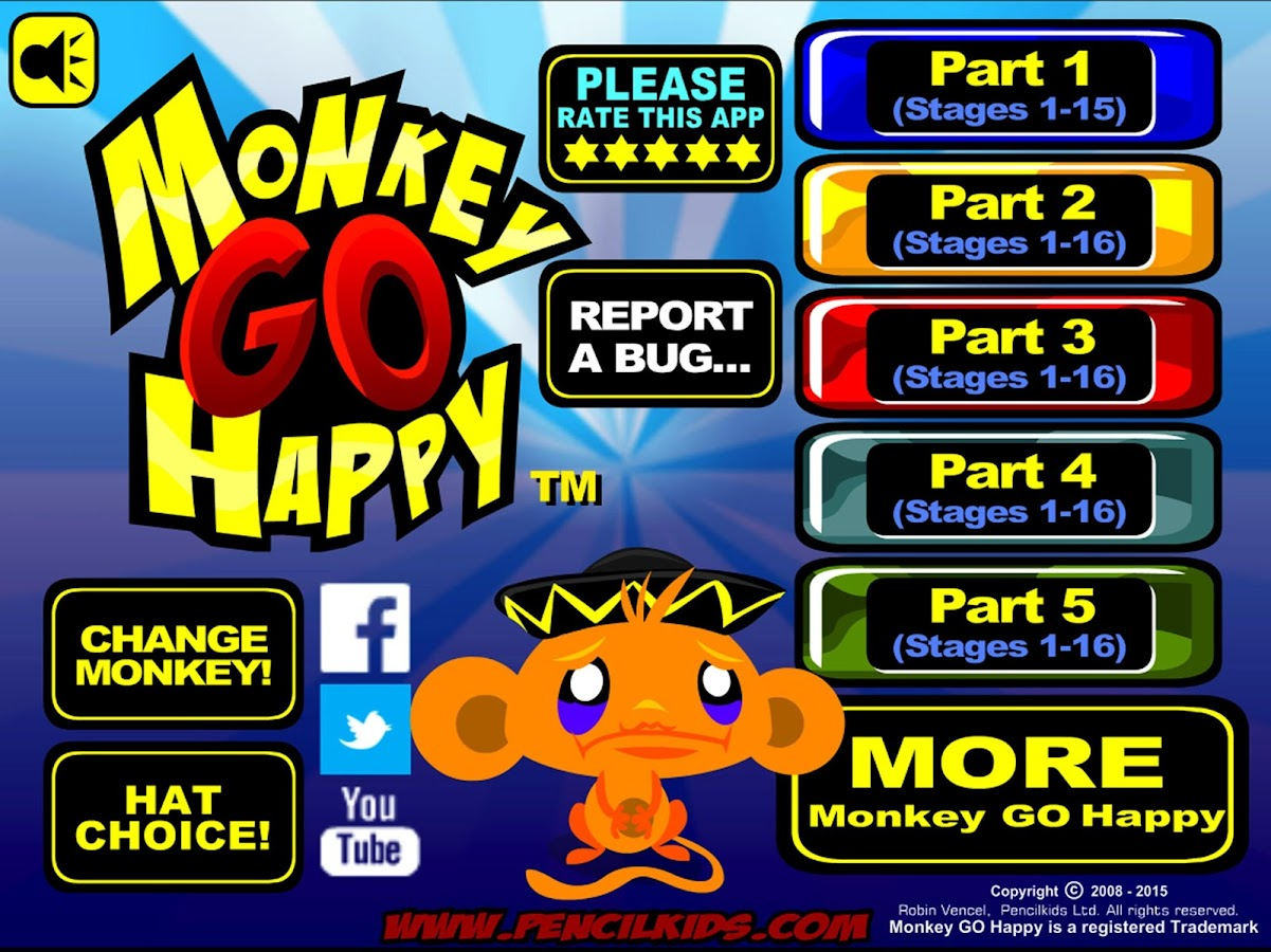 Monkey GO Happy- screenshot