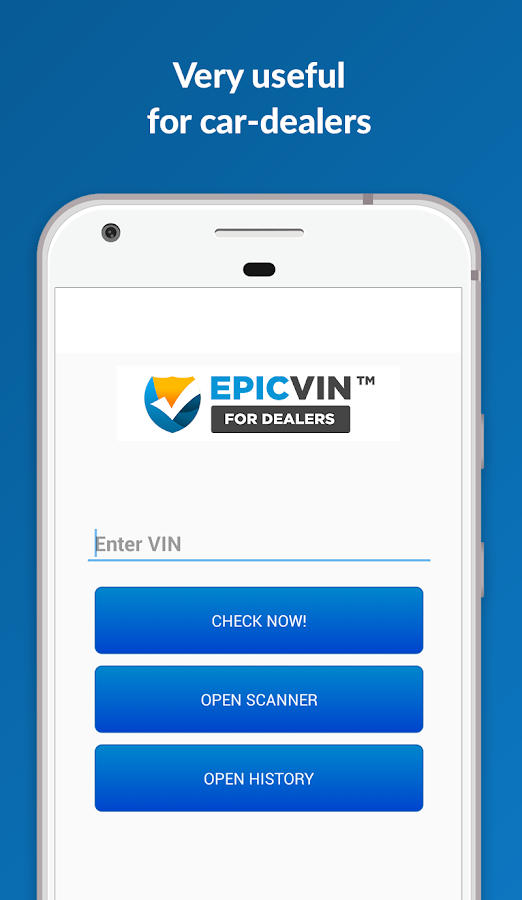 Epicvin VIN decoder & history- screenshot