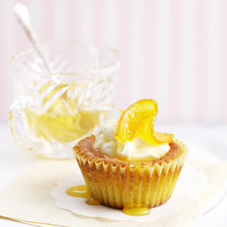 Mini Almond Cakes with Orange Syrup