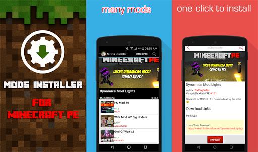 Mods Installer 4 Minecraft PE
