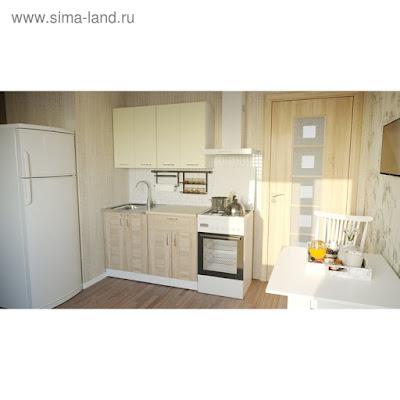 Кухонный гарнитур Камилла лайт 1200