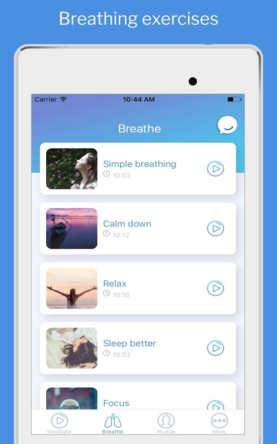 Trixie: Personal meditation and mindfulness coach- screenshot