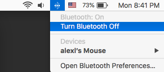 Turn Bluetooth Off then On again.
