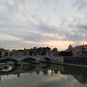 Rome, Italy by Kristen Salakielu - Buildings & Architecture Bridges & Suspended Structures