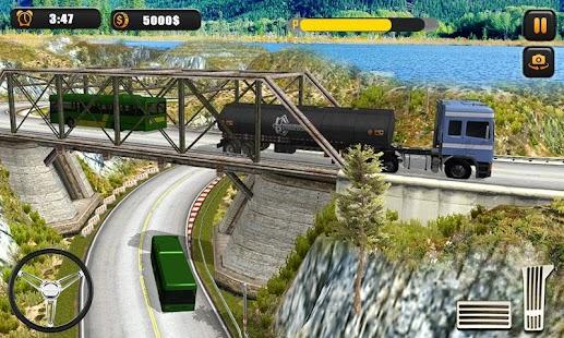 Off road Oil Tanker Transport Simulator 2018 - náhled