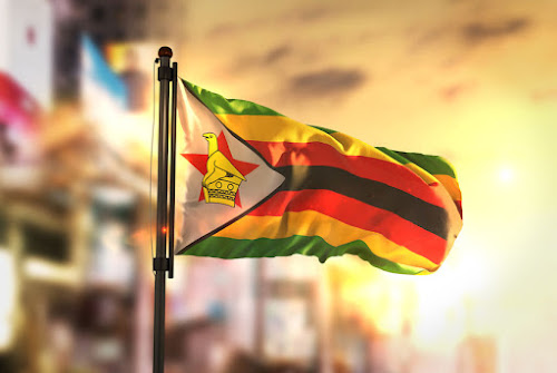 The Zimbabwean flag. File photo.