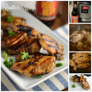 Rootbeer Chicken Wings.