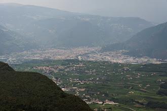 Photo: W dole widoczne już Bolzano.
