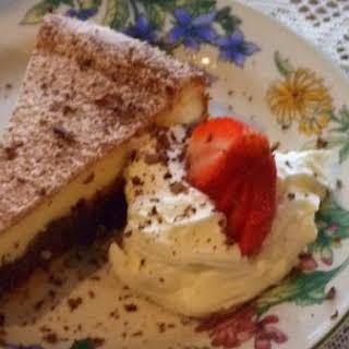 Chocolate Stuffed Cheesecake.